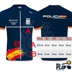 Camiseta Oficial Ruta 091