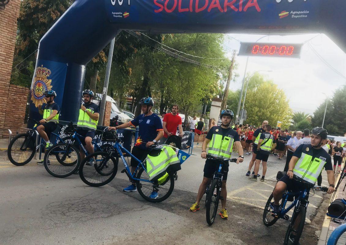Bicicletas cardiprotección ruta 091 Ciudad Real