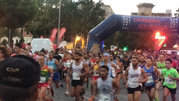 Ruta 091 salida participantes Zaragoza