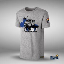 Camiseta La Línea de la Concepción gris