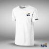 Camiseta basica logo MRPLC algodon blanca