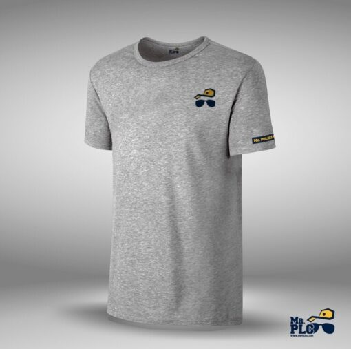 Camiseta basica logo MRPLC algodon gris