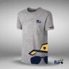 Camiseta logo MRPLC grande algodon gris