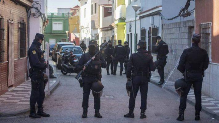 UPR La Línea de la Concepción, UIP prestando servicio en operativo policial Seguridad Ciudadana