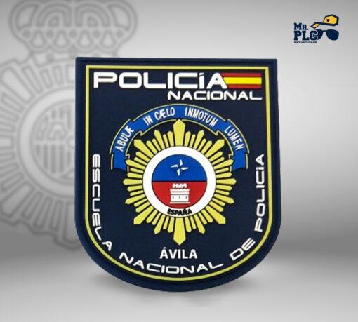Parche escuela nacional de policía