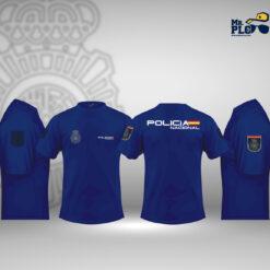 camiseta policía nacional
