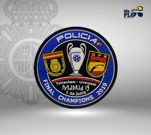 Parche Final de la champions 2019 UPR