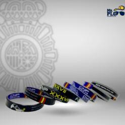 pulseras XXXVII Policía Nacional