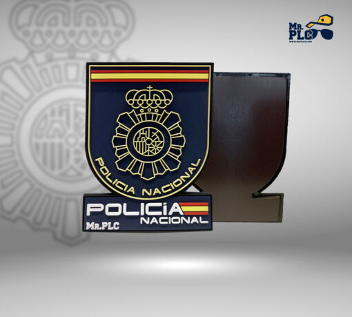 Foto imán Policía Nacional