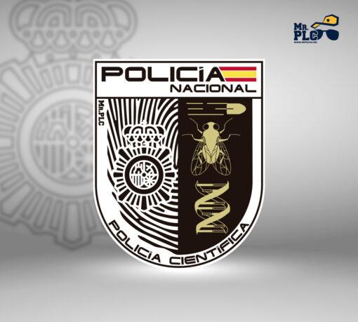 Parche policía científica
