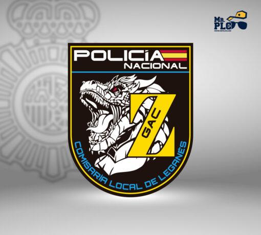 Parche Comisaría Local de Leganés