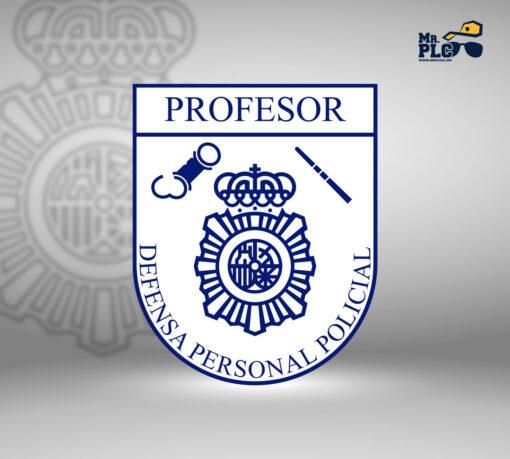 Parche Profesor Defensa Personal Policial