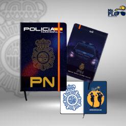 Cuaderno Policía Nacional