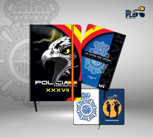Cuaderno Policía Nacional Promoción XXXVIII