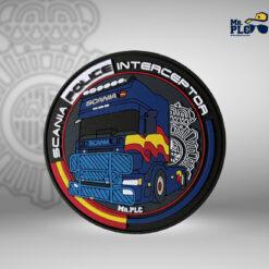 Parche Scania Police Interceptor