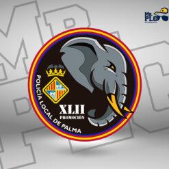Parche promoción XLII PL de Palma